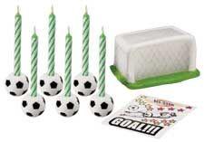 Soccer Candle Set