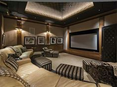 Over 40 Different Media/ Home Theater Design Ideas.  http://www.pinterest.com/njestates1/media-home-theater-design-ideas/