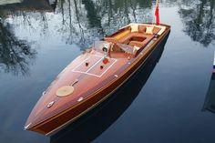 McLaren Designer Builds a Stunning Wood Electric Powerboat (4 Photos)- Suburban Men