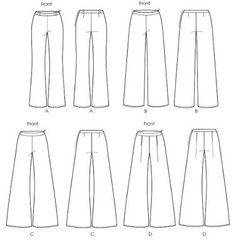 palazzo pants patterns free - Google-keresés                                                                                                                                                                                 More