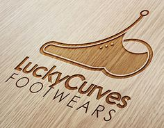 """Check out new work on my @Behance portfolio: """"Logo project for Lucky Curves footwears."""" http://be.net/gallery/56983321/Logo-project-for-Lucky-Curves-footwears"""