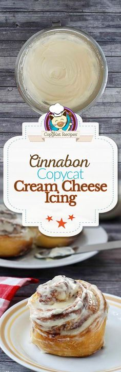 Frosting Make your own copycat version of Cinnabon Frosting with this easy recipe.Make your own copycat version of Cinnabon Frosting with this easy recipe. Cinnabon Frosting Recipe, Cinnamon Roll Frosting, Icing Recipe, Frosting Recipes, Cupcake Recipes, Baking Recipes, Cupcake Cakes, Dessert Recipes, Cinnamon Rolls