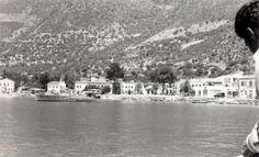 Kaş İskelesi'nin eski görünümü. 1960