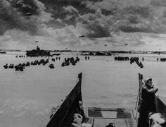 Troops land at Normandy, D-Day, June Credit: Library of Congress. Normandy Beach, Landing Craft, British Soldier, National Archives, D Day, Second World, Vacation Places, Juni, Troops