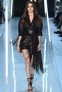Alexandre Vauthier Fall 2015 Couture Fashion Show - Vanessa Moody (Women)