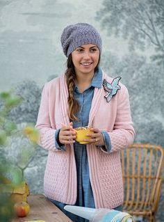 Modèle gratuit : un gilet en tricot