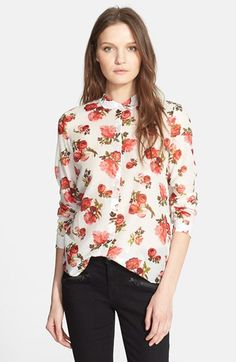64d79c26bd7 Matt Healy's Floral Boyfriend Shirt worn in Robbers MV | Fashion ...