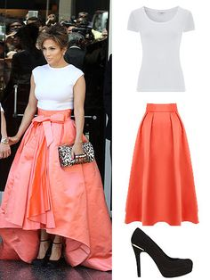 Get Jennifer Lopez's look for less