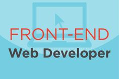 Hot Job: Front-End Web Developer