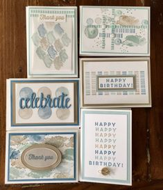 Sale-a-bration Second Release: Eclectic Expressions Tonight the Art with Heart t. Birthday Sentiments, Birthday Cards, Birthday Stuff, Thank You Happy Birthday, Card Maker, Masculine Cards, Birthday Balloons, Stampin Up Cards, Making Ideas