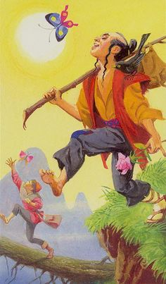 The Fool - Tarot of the Journey to the Orient (Marco Polo Tarot)