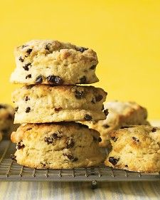 Currant Scones!    These teatime treats come courtesy of Letty Hampton, whose mother made them back home in Scotland.