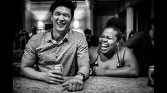 Amber Riley and Harry Shum Jr.