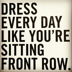 Dress every day like you're sitting front row with www.TrendsByChance.com! Sign up to launch your own online boutique as a Wholesaler or Reseller/Vendor FREE of charge #HappyMonday #TrendsByChance #OnlineMarketplace #Trends #Fashionista #Wholesale #Resellers #Buyer #Vendor #Brands #Shop #Clothing #Items #Electronics #Handmade #Unique #Art #Beauty #Fashion