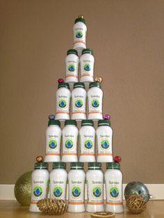 Merry Christmas - Spiralps, Swiss Spirulina Drink www.spiralps.ch #spiralps
