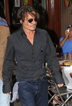 Johnny Depp has great style