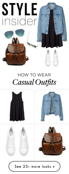 """""""Casual"""" by slmac on Polyvore featuring H&M, Tiffany & Co., contestentry and styleinsider"""
