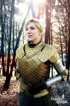 Brienne Of Tarth, Game Of Thrones Cosplay By Insanity And Impossible Things – Photo Edit By CosplayLifestyle.Com