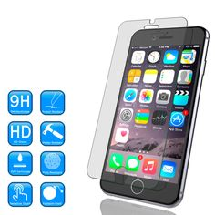 Punkcase Glass SHIELD is build with the highest quality tempered glass to obtain the best HD clear visibility. Punkcase Glass SHIELD covers the whole screen. Iphone 6 Plus Case, Iphone Cases, Iphone 6 Glass, Iphone 6 Screen Protector, Glass Shield, Iphone Models, Tempered Glass Screen Protector, 6s Plus, Phones