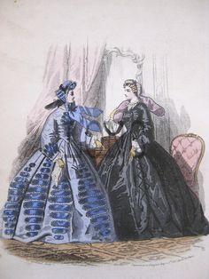 1863 civil war fashion