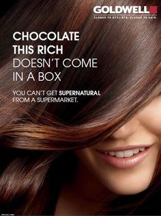 Goldwell Life may be like a box of chocolates, but hair color is NOT!