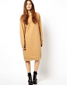 ASOS Massive Sweat Dress. fun, stayathome