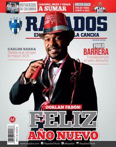 ¡Feliz año nuevo! Busca la nueva edición de la Revista #Rayados.   De venta en la #TiendaRayados y tiendas de autoservicio.