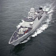 The first frigate of De Zeven Provincien air defence and command (LCF) class was commissioned in the Royal Netherlands Navy in April 2002.