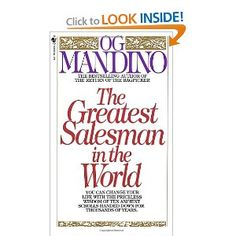 This is one of those books that end up surprising you. Yes, this sort of a guide to be a great salesman, but it's also a great life guide. It complete changed my perspective on everything! It combines techniques, positive outlooks and a great story all in one.