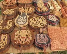 At Viking Festivals in eastern Europe, like the ones in Wolin/Poland, you can get some remarkable, handmade, reenactment goods, for very reasonable prices!