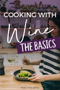 Cooking with Wine – The Basics - Pesto & Margaritas Wine Recipes, Gourmet Recipes, National Drink Wine Day, Marsala Wine, Wine Tasting Events, Sweet Wine, Expensive Wine, High Protein Recipes, Wine Drinks