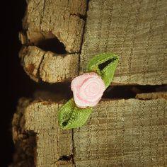 Ribbon Rose 3cm  Pink  100 by Craft365.com ~US$4.90