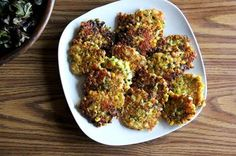 Corn Fritters with Cheddar and Scallions Recipe on Food52 recipe on Food52