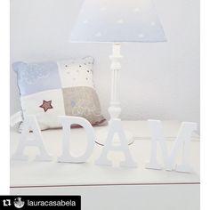 Crear un rincón especial para tu #bebe es muy fácil. Fíjate en el que ha creado  @lauracasabela ¡Gracias por usar nuestras letras!  Repost: Rinconcitos especiales⭐️ #babyroomdecor