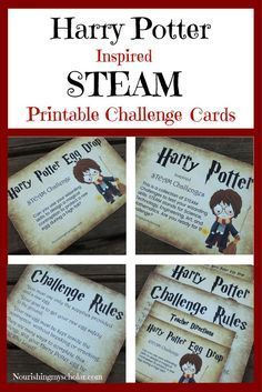 5 Days of Harry Potter Inspired Fun : Harry Potter…This is a collection of STEAM challenges to test your wizarding skills. STEAM stands for Science, Technology, Engineering, Art, and Mathematics. Are you ready for the challenge? Harry Potter Day, Harry Potter Thema, Harry Potter Christmas, Harry Potter Birthday, Harry Potter Weihnachten, Harry Potter Activities, Harry Potter Classroom, Anniversaire Harry Potter, Theme Days