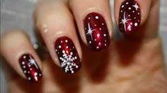 """Képtalálat a következőre: """"christmas nail art unghie natalizie"""""""