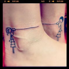 6 best friend tattoos for girls on ankles: