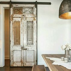 Upcycling doors