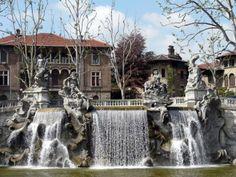 La fontana dei  Dodici Mesi, un'altra meraviglia di Torino