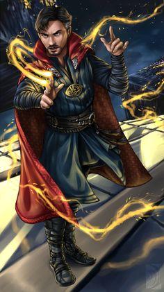 Fan art: Doctor Strange by Niabolla.deviantart.com on @DeviantArt