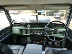 land rover defender series 2 interior - Google Search