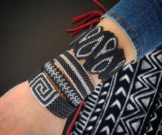 Black and silver macrame bracelet,Adjustable,Luxurious jewelry,Macrame jewelry,W… – Macrame Bracelets Diy Bracelets Easy, Macrame Bracelets, Handmade Bracelets, Macrame Necklace, Macrame Jewelry, Macrame Knots, Homemade Jewelry, Handmade Accessories, Bracelet Patterns
