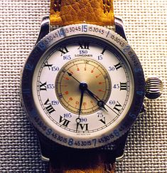 The watch Charles Lindbergh designed.