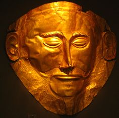 Agamemnon Mask      Early Greek--Aegaean  Mycenaean