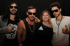 Yours truly with Thirty Seconds to Mars!