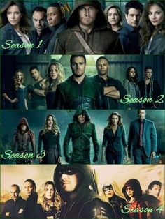 Arrow season 1-4