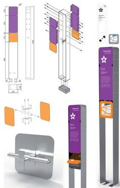 Kiosk Design, Signage Design, Display Design, Pylon Signage, Wayfinding Signs, Environmental Graphic Design, Environmental Graphics, Desgin, Signage Board