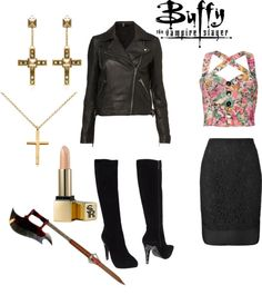 """Buffy Summers"" by laurshar on Polyvore"