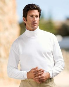 Oh how I love a man in a turtleneck ...