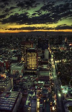 Mexico City, a wonderful photo and would love to know who took it!